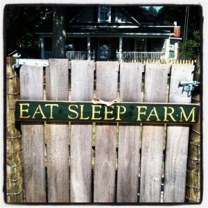 eat sleep farm
